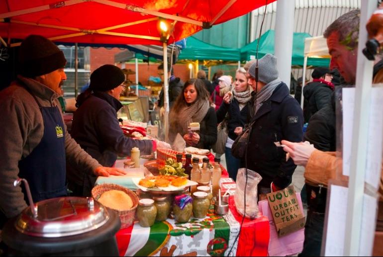 Food Stall, Food Market